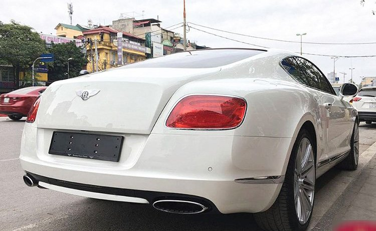 Bentley Continental GT Speed 4.