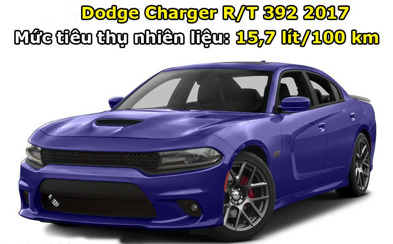 Dodge Charger R/T 392 2017.