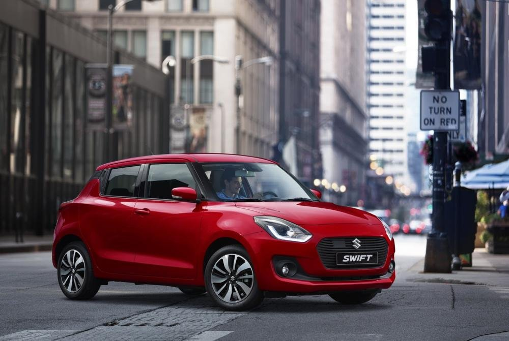 đầu Suzuki Swift 2017.