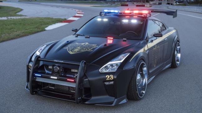 Nissan GT-R Police Pursuit #23.
