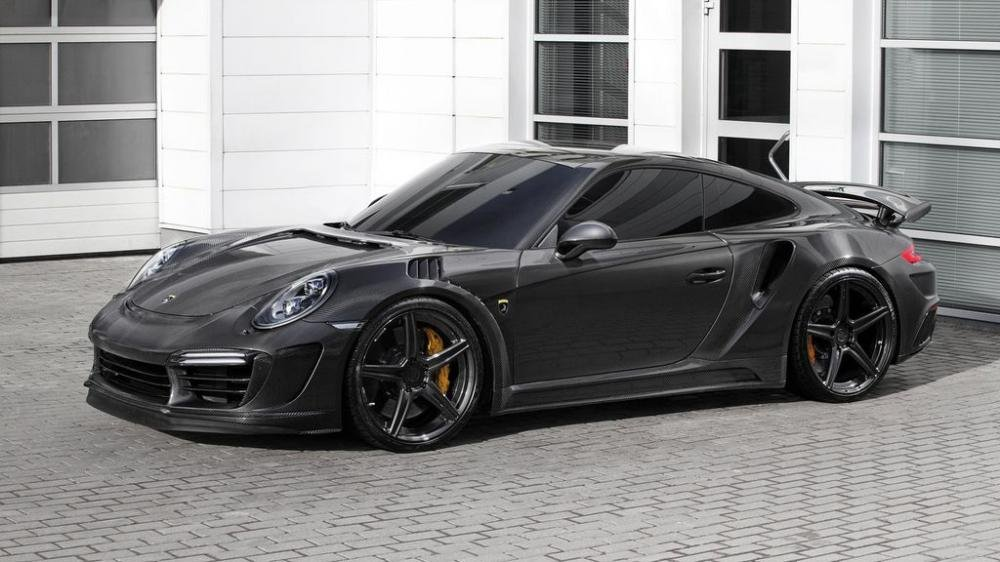 TopCar Porsche 911 Turbo Carbon Edition.