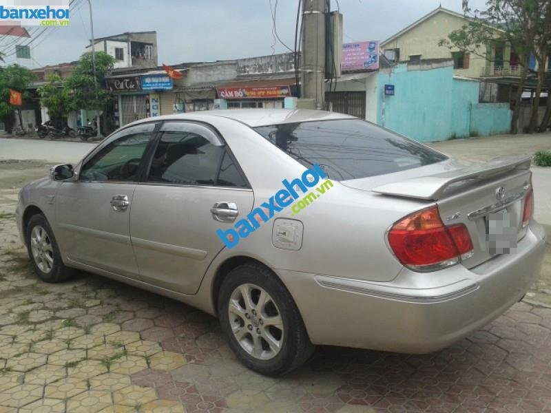 Xe Toyota Camry 2.4G 2005-2