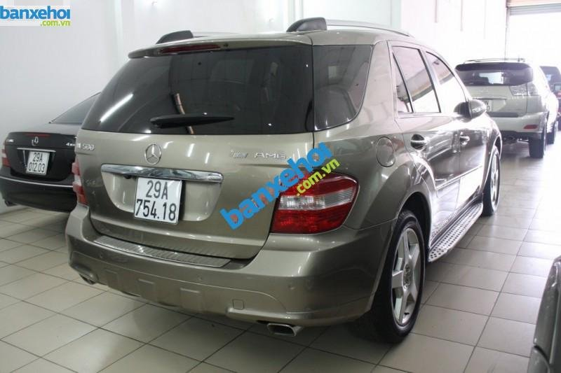 Xe Mercedes-Benz ML Class ML500 2006-3