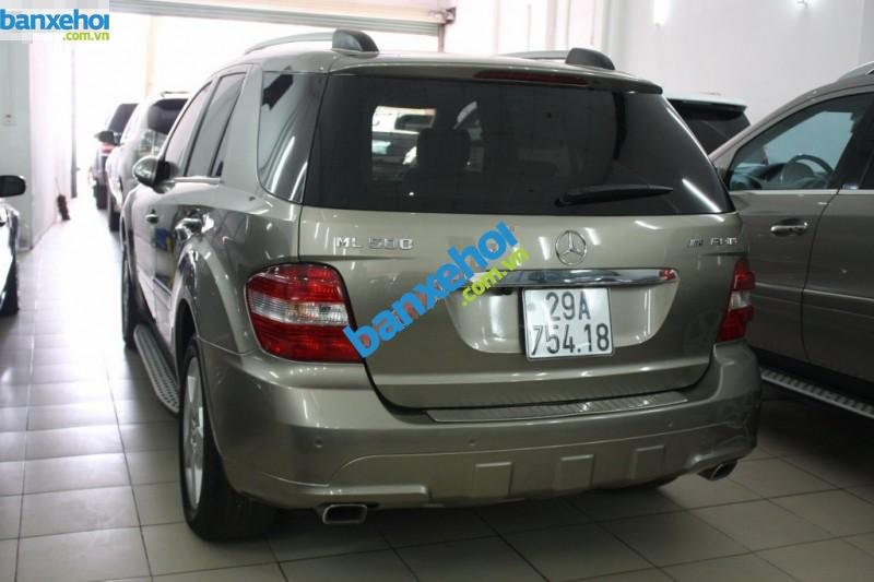 Xe Mercedes-Benz ML Class ML500 2006-4