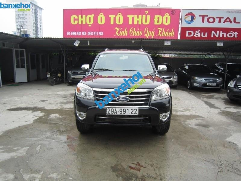 Xe Ford Everest 2.5AT 2010-0
