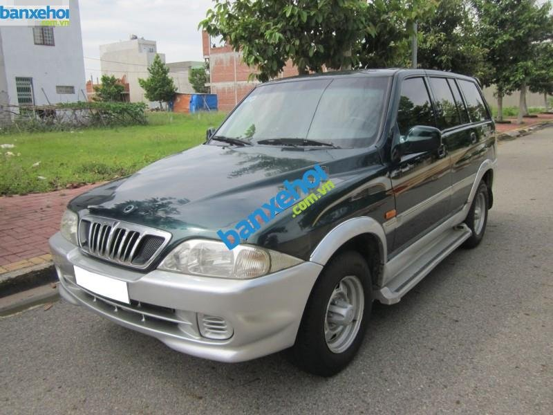 Xe Ssangyong Musso  2001-1
