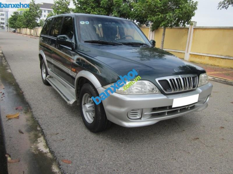 Xe Ssangyong Musso  2001-2