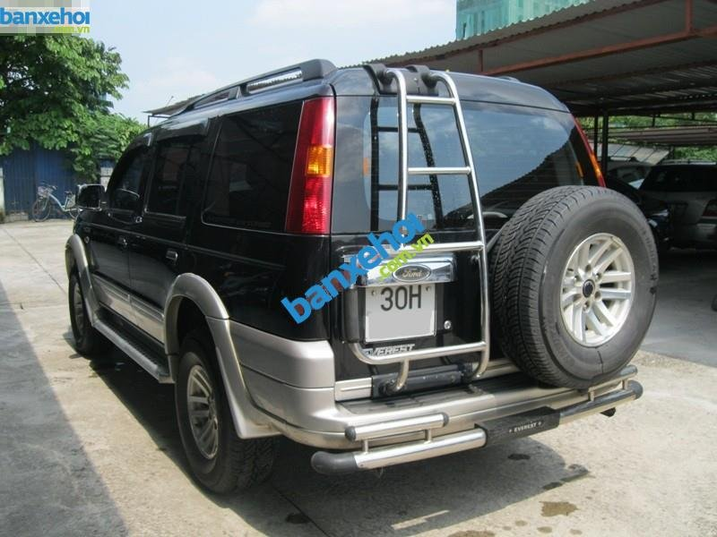 Xe Ford Everest 2.5 MT 2006-7