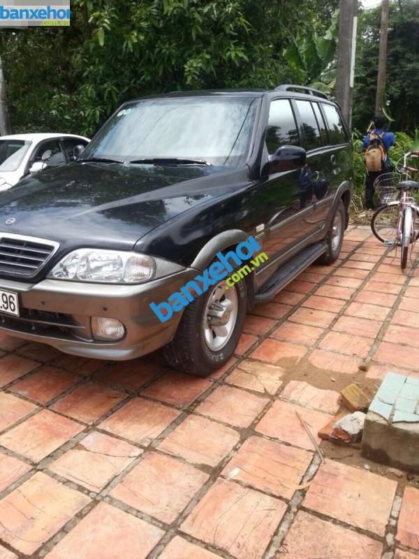 Xe Ssangyong Musso  2004-0
