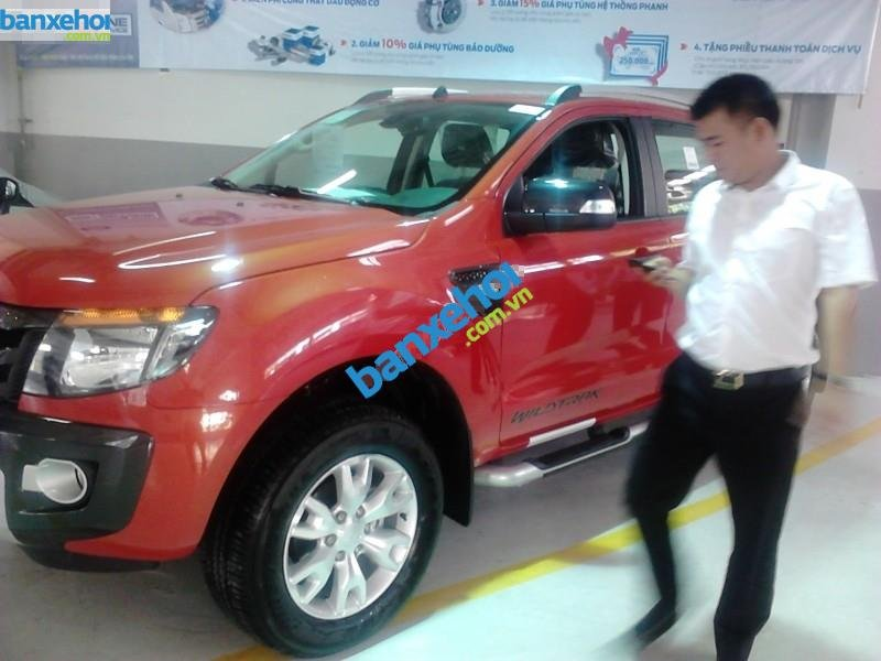 Xe Ford Ranger WildTrack 3.2L AT 2014-1