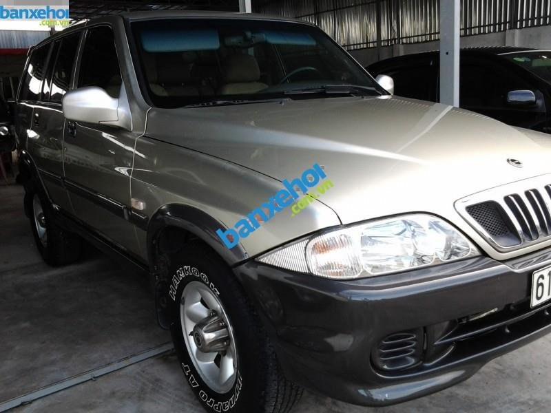 Xe Ssangyong Musso 4x4MT 2007-1