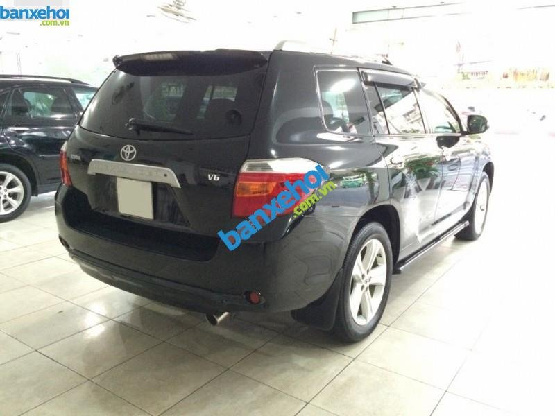 Xe Toyota Highlander Limited 3.5 2008-4