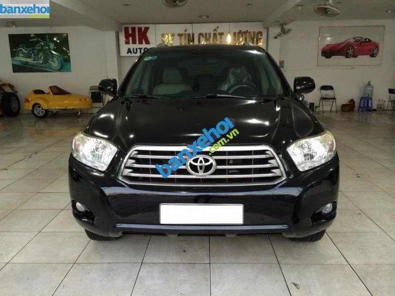 Xe Toyota Highlander Limited 3.5 2008-0