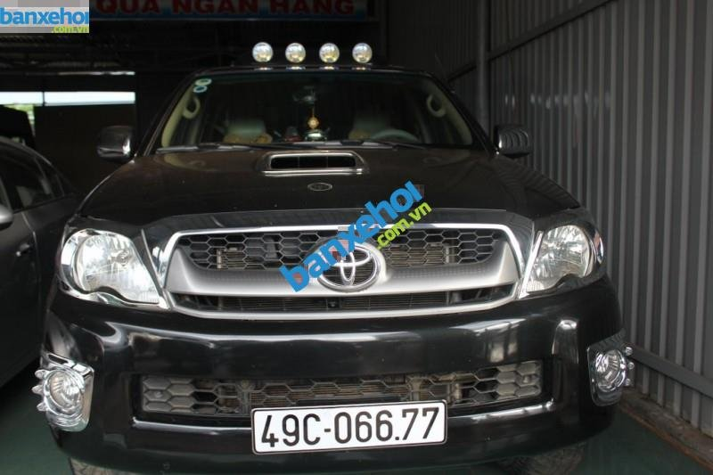 Xe Toyota Hilux G 2009-0