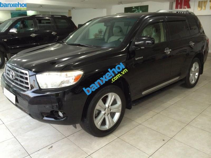 Xe Toyota Highlander Limited 3.5 2008-2