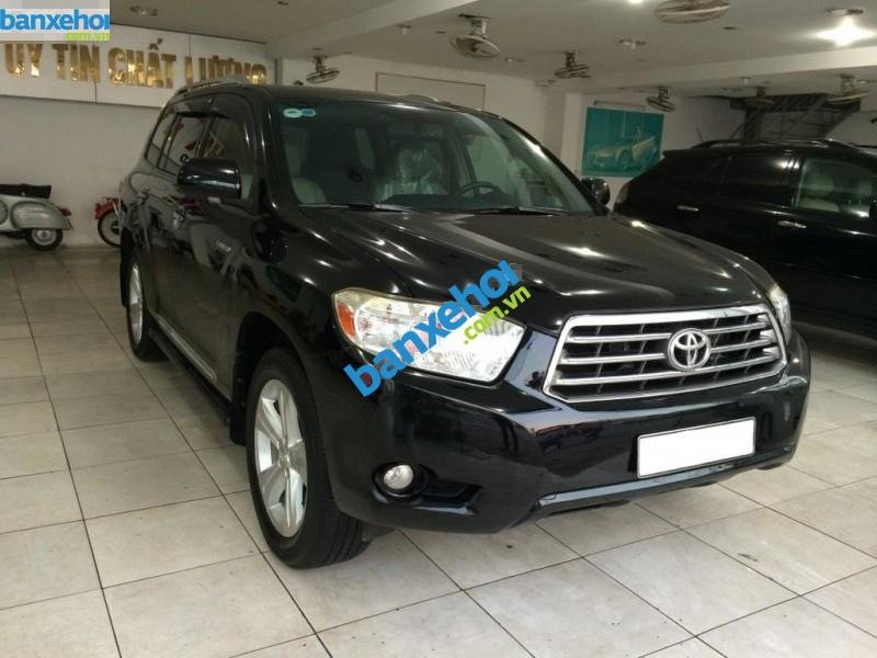 Xe Toyota Highlander Limited 3.5 2008-1