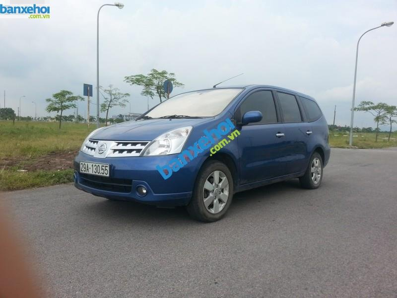 Xe Nissan Grand livina 1.8AT 2010-0