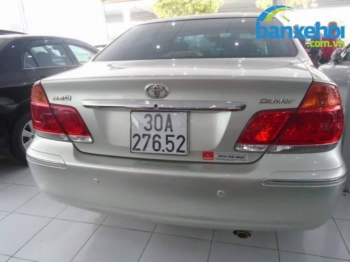 Xe Toyota Camry  2005-4