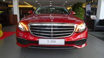 Mercedes-Benz E200 new colour / Red Hyacinth