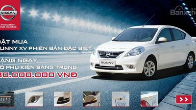 Bán Nissan Sunny SX 2017 Ver, No Limited