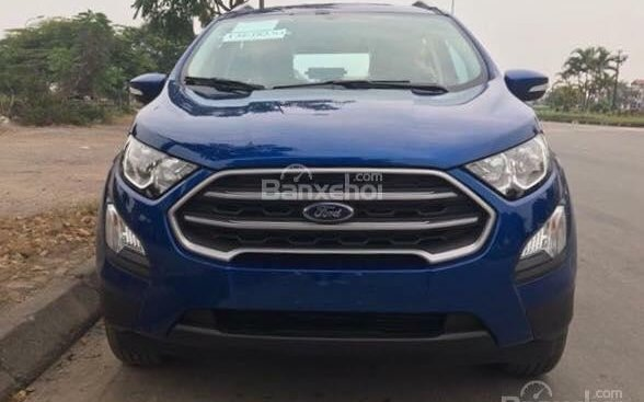Ford Ecosport 2018 new, hỗ trợ vay 90% LS 0.6%, LH: 090909.9106